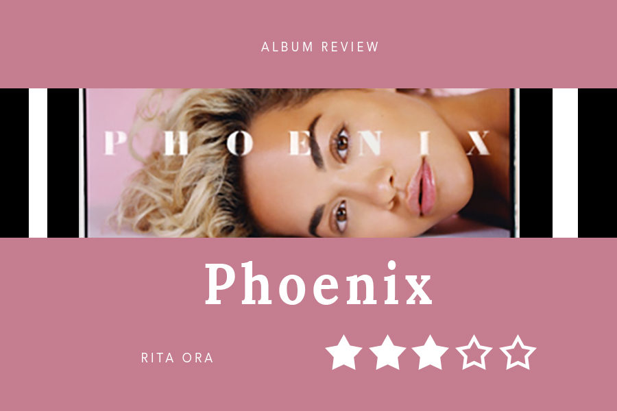 Rita+released+her+sophomore+album%2C+Phoenix%2C+on+Friday.+Entertainment+editor+Anthony+Cesario+enjoyed+the+songs+released+prior+to+the+album%2C+but+felt+disappointed+in+the+album+as+a+whole.