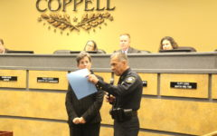 "The Coppell City Council honors Police Chief Macario ""Mac"" Tristan for his service to the City of Coppell. Tristan will be retiring effective Dec. 2 at the City Council meeting on Nov. 13."