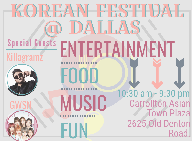 On+Saturday%2C+Nov.+10%2C+the+Korean+Society+of+Dallas+is+hosting+the+annual+Korean+Festival+in+Carrollton.+The+festival+will+feature+cultural+performances%2C+food+and+art.+%0A