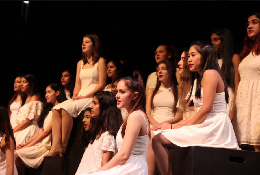 Respira, Coppell High School's girls choir, is hosting its annual show in the auditorium tonight and tomorrow. For $5, guests can attend and receive complimentary desserts.