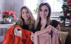 Student entrepreneurs selling trendy clothes on the cheap