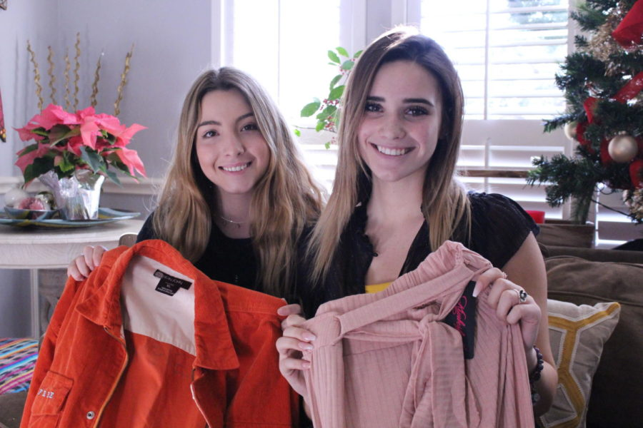 Coppell+High+School+junior+Hannah+Cechin+and+CHS+graduate+Macy+Kincaid+decided+to+get+into+fashion+and+begin+their+own+fashion+resale+company%2C+Via+Free.+Kincaid+and+Cechin+have+decided+to+donate+a+portion+of+their+profit+to+a+charity+and+Kincaid+plans+on+pursuing+a+fashion-related+career+in+college.+%0A