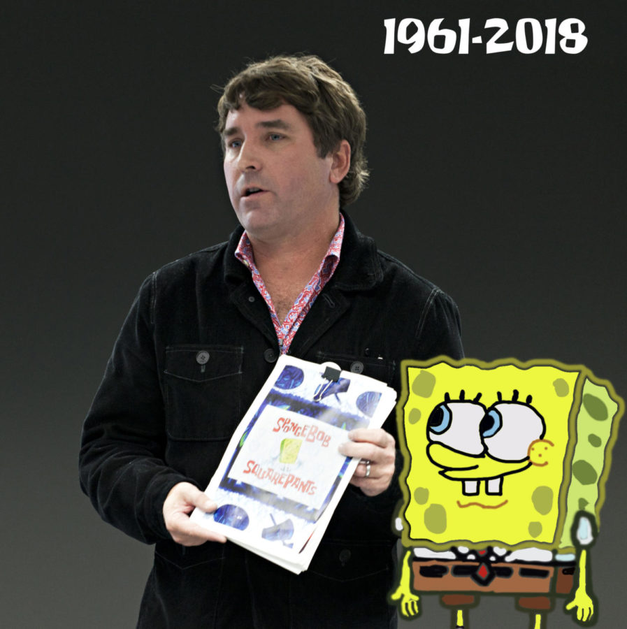 SpongeBob+SquarePants+creator+Stephen+Hillenburg+passed+away+at+the+age+of+57+due+to+complications+from+ALS.+He+developed+the+titular+character+in+a+comic+strip%2C+and+eventually+the+show+made+its+debut+on+Nickelodeon+on+May+1%2C+1999.
