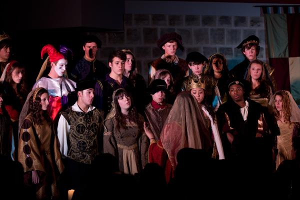 A Madrigal feast performance from 2011. The 24th annual Madrigal feast will take place Friday and Saturday night at 7 p.m. in the CHS Commons.