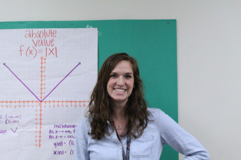 Q&A: New to CHS: Baker brings long-time appreciation for math to algebra classes mid-year