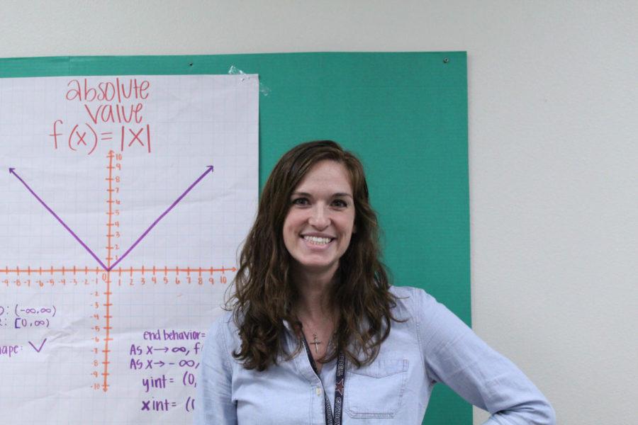Coppell High School Algebra II teacher Krissy Baker began teaching at CHS after Thanksgiving Break. Baker previously taught Pre-Calculus at Richardson High School before transferring.