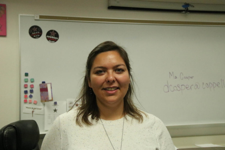 Coppell High School Interior Design teacher Dana Cosper started teaching Monday after winter break. Cosper not only teaches Interior Design but also Practicum of Education and Training/Instructional Practices and Human Growth and Development at CHS.