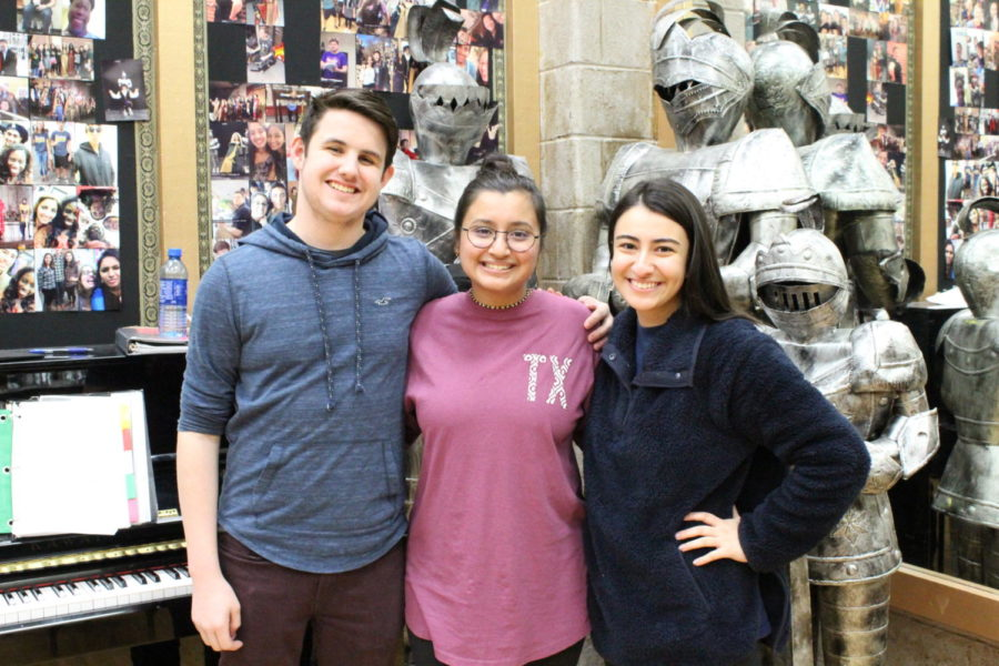 Coppell High School seniors Karvi Bhatnagar, Arezue Shakeri and Evan Barnes have made it to the 2019 Texas Music Educators Association (TMEA) All-State Choirs after working hard since June. Final auditions were held on January 12 at UT-Arlington.