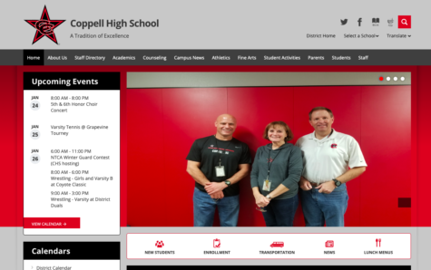 Registration for the 2019-20 school year is available for returning Coppell High School students and parents. All important links and dates can be found at the homepage of the CHS website.