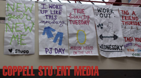 "Video: Coppell High School students speak on Student Council ""New Year, New Me"" week"
