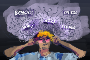 Today, students are more stressed than ever, with The American Psychological Association's Stress in America survey finding 30 percent of teens reported feeling sad or depressed because of stress and 31 percent felt overwhelmed. The rigor of schoolwork, along with toxicity across social media, relationships and academic competition all end up supporting a fatal backbone of a culture full of negativity.
