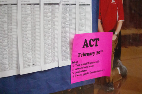 Coppell High School provides a free ACT test for all juniors. students take this test through the school in order to decide whether they prefer ACT or SAT.