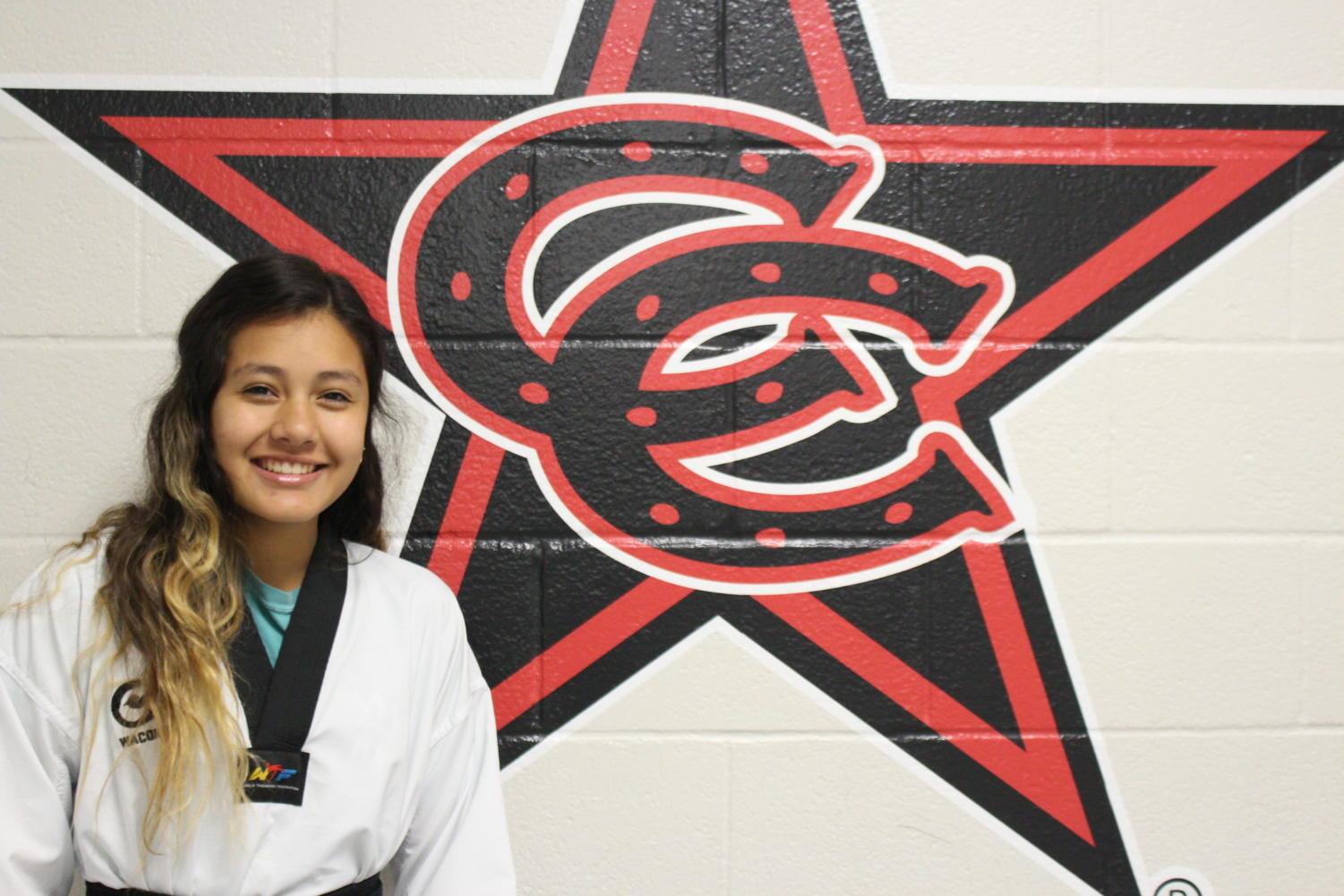 Coppell High School sophomore Jessica Hayakawa is a highly skilled taekwondo athlete shown through Hayakawa's black belt. Hayakawa was offered a spot on the Mexico's National Taekwondo Team which she has now joined.