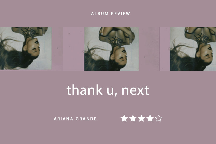 Thank+u%2C+next+is+Ariana+Grande%27s+fifth+album%2C+that+was+released+Feb.+8.+This+album+came+out+five+months+after+her+previous+album%2C+Sweetener.