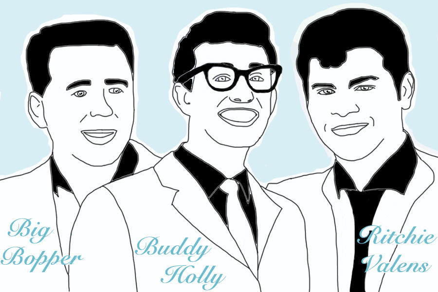 On+February+3+1959%2C+three+legendary+rockabilly+stars%2C+Buddy+Holly%2C+Ritchie+Valens+and+the+Big+Bopper%2C+were+killed+in+a+plane+crash.+Feb.+3+was+the+60th+anniversary+of+the+tragic+event%2C+which+is+also+commonly+referred+to+as+%E2%80%9Cthe+day+the+music+died%E2%80%9D.