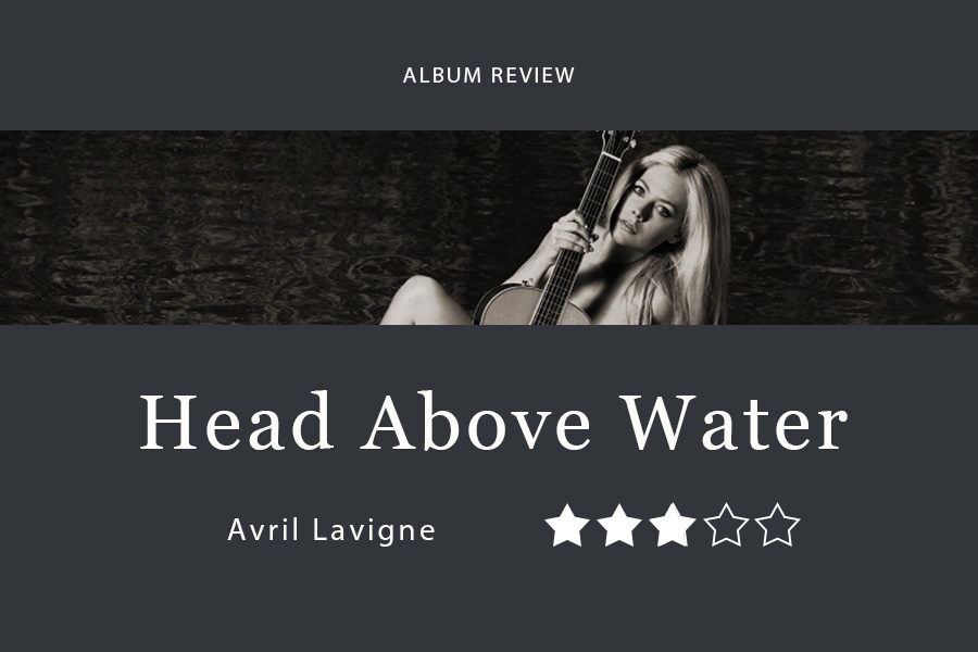 Avril+Lavigne+released+her+sixth+studio+album%2C+Head+Above+Water%2C+on+Friday.+It+comes+six+years+after+her+previous+album+and+references+her+personal+struggles+with+Lyme+disease.