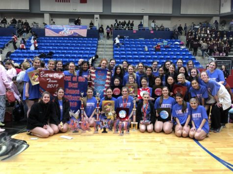 Lariettes recognized at ATDS Regionals