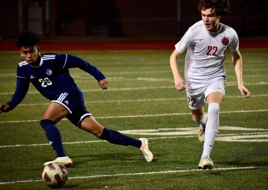 Flower Mound takes district's top spot in 2-1 victory