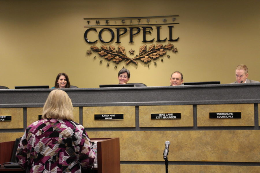 During Tuesday's Coppell City Council meeting, council members vote on additional budgets to various new projects as well as old ones. The Coppell City Council awarded the Biodiversity Education Center (BEC) a bid to construct a new outdoor classroom for their facility, and approved a new amendment presented by Tyler Technologies regarding additional software.