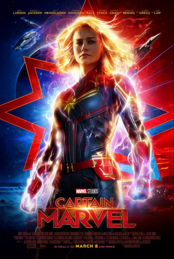 Marvel+Studios%E2%80%99+Captain+Marvel+released+today+in+theaters.+The+Sidekick+staff+writer+Neha+Desaraju+praises+the+movie+for+its+accomplishments+in+developing+a+strong+female+lead.+