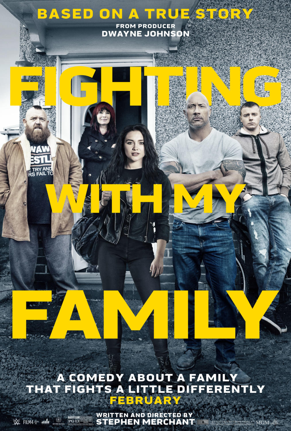 "The sports drama film Fighting with my Family follows the journey of the Saraya ""Paige"" Knight and her journey to becoming a World Wrestling Entertainment Diva Champion. Fighting with my Family premiered publically on Feb 22."