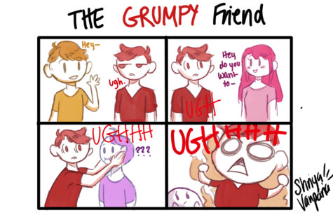 "The Sidekick Strip #5 – ""Type of Friends: The Grumpy"""