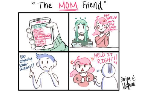 "The Sidekick Strip #3 – ""Types of Friends: The Mom"""