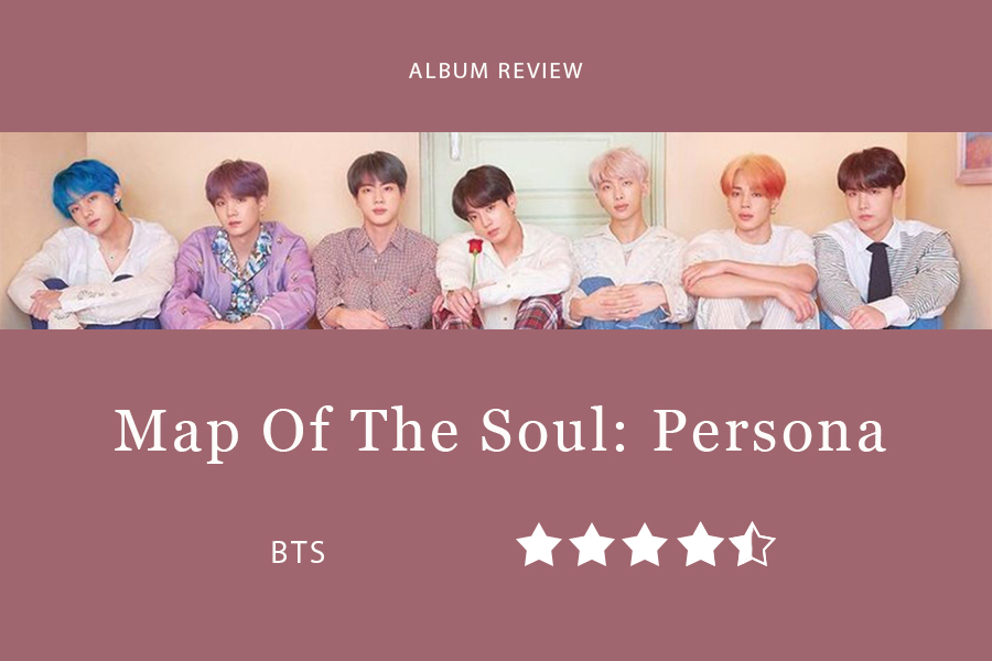 "BTS's Map of the Soul: Persona was released April 12. The album includes collaboration with Halsey, ""Boy with Luv"", which holds the record for YouTube music video with most views gained within 24 hours."