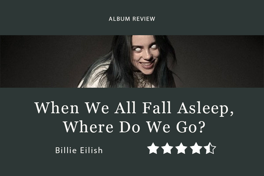 Billie Eilish's WHEN WE ALL FALL ASLEEP, WHERE DO WE GO? came out March 29. This is her first full-length album, despite already having released many chart-topping hits.
