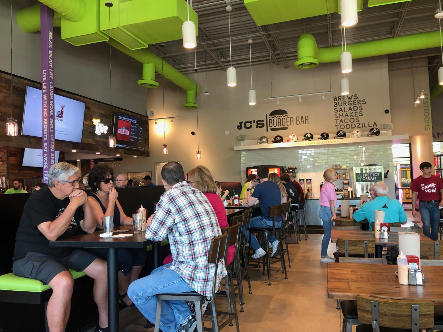 JC's Burger Bar opened its Coppell location on April 2, which is open from 10:30 a.m. to 10 p.m. daily. The restaurant has a wide variety of menu options, complimentary ice cream and an arcade.