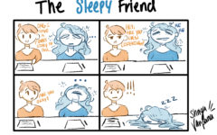 "The Sidekick Strip #7 – ""Type of Friends: The Sleepy"""