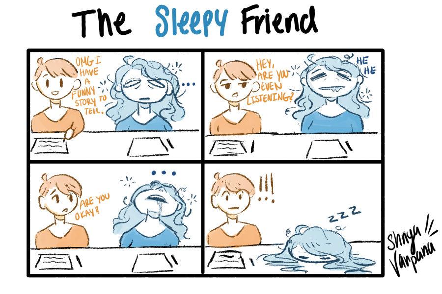 The Sidekick Strip #7 - Type of Friends: The Sleepy