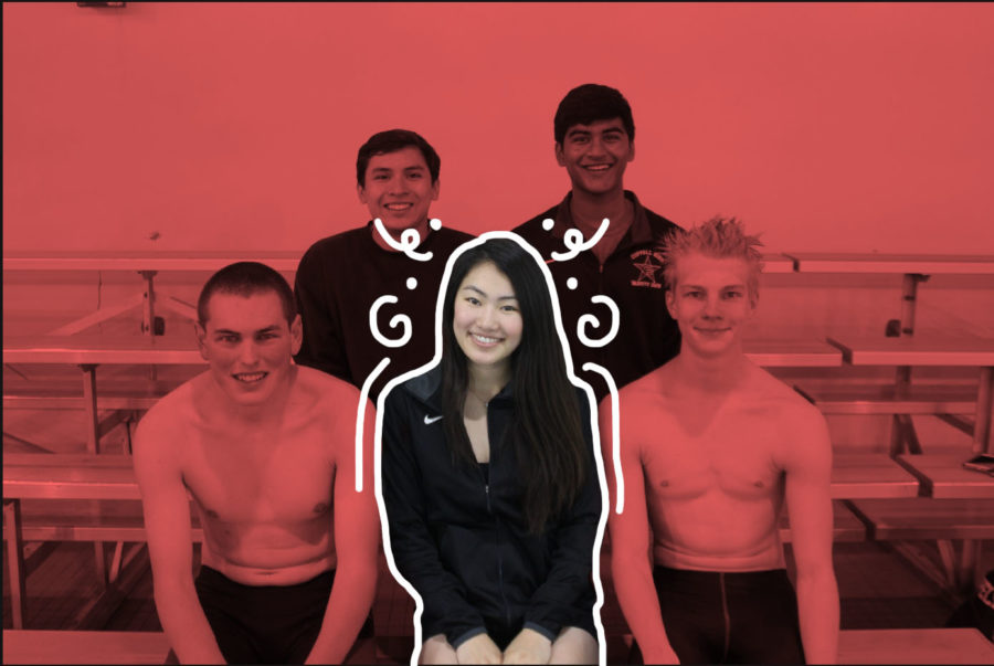 Coppell+senior+captain+Yue+Taira+is+the+only+senior+female+on+the+varsity+team.+Taira+is+one+of+five+varsity+seniors+who+have+experienced+the+different+coaching+styles+of+both+former+coach+Rick+Whittlesey+and+current+coach+Marieke+Mastebroek.