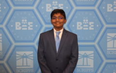 Raja returns to national spelling bee, earns victory in eight-way tie