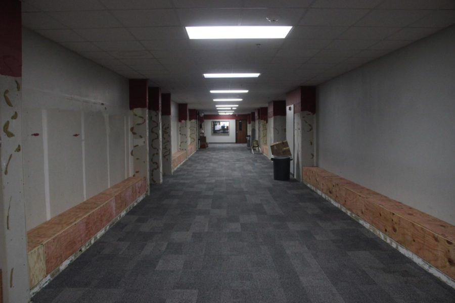 Coppell+High+School+has+been+renovating+its+building+since+the+beginning+of+the+summer+of+2019.+Although+the+majority+of+the+construction+has+been+completed%2C+the+hallways+are+still+being+redesigned.