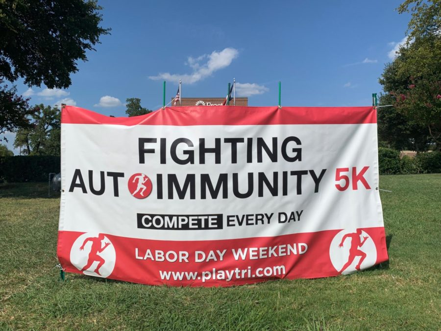 The fifth Fighting Autoimmunity 5K is this Saturday from 8-10 a.m., with the running path  starting at Andy Brown Park East and encircling the rest of the Andy Brown Park.