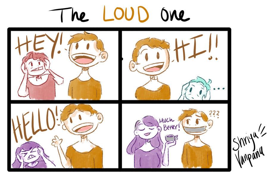 The Sidekick Strip #8 - Type of Friends: The Loud