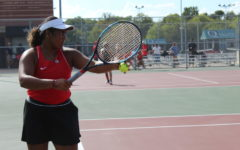 Tennis team makes history with state ranking