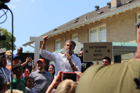 O'Rourke calls for stronger, more decisive Democratic action at Sunday's Plano campaign rally