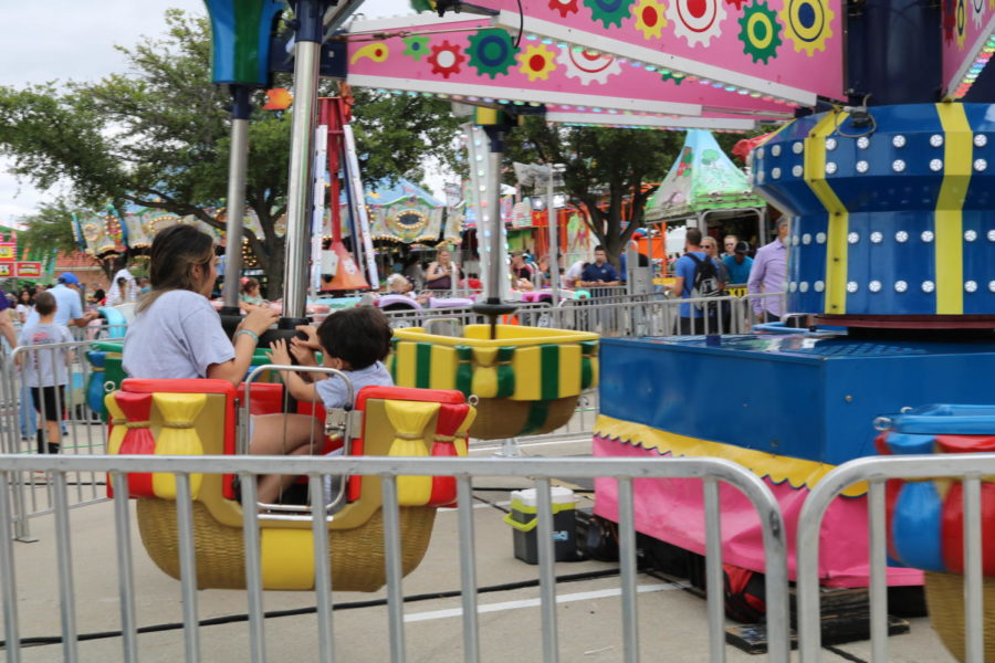 St. Ann Catholic Parish is hosting its annual carnival this weekend. The carnival takes place today from 5-11 p.m.,tomorrow from 10-11 a.m. and Sunday from 1-6 p.m. Pictured is the 2018 St. Ann Carnival, which experienced rain showers as this forecast this weekend is sunny and hot.