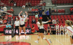 Volleyball opens district against Irving Nimitz (with video)