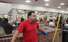 Campus custodians serve as unsung heroes