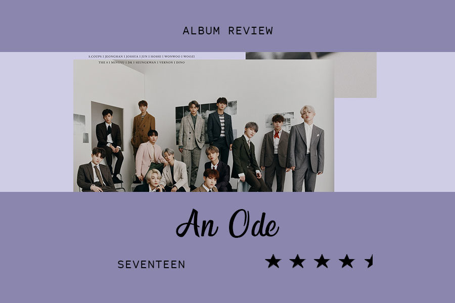 Seventeen%E2%80%99s+third+studio+album%2C+An+Ode%2C+released+Sept.+16.+The+Sidekick+executive+editorial+page+editor+Claire+Clements+gives+a+glimpse+into+her+opinion+on+the+album.+%0A