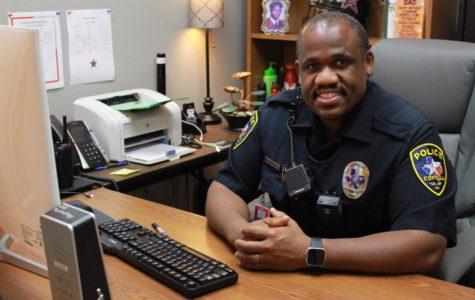 School Resource Officer Reggie Walker
