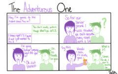 "The Sidekick Strip #9- ""Type of Friends: The Adventurous One"""