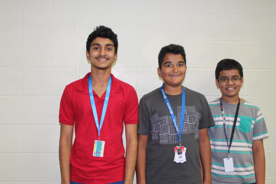 CHS9+students+Sri+Jishnu+Chinta%2C+Arman+Pathan+and+Manish+Kaku+advanced+to+the+next+round+of+the+Texas+Music+Educators+Association+%28TMEA%29+All-State+Clinic+and+Convention.+The+district+auditions+for+TMEA+took+place+on+Sept.+21+at+Colleyville+Heritage+High+School.