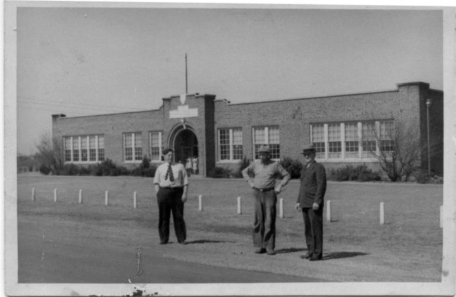 In 1928, the first official Coppell school, Coppell Grade School, was built. This laid a foundation for the independent school district to be formed in 1959. Photo courtesy Coppell Historical Society.