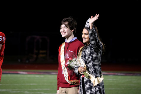Hinojos, McCord crowned homecoming queen, king