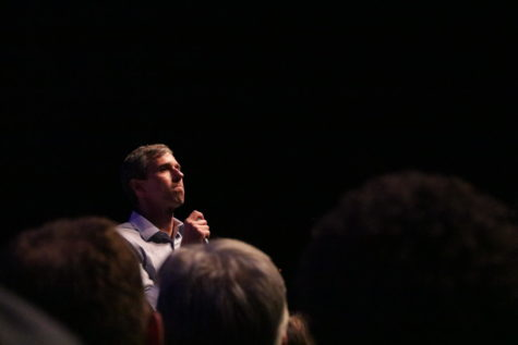 "O'Rourke holds ""Rally against Fear"" to trump President"