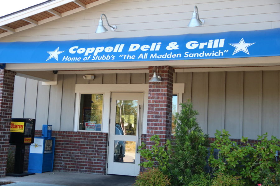 The Coppell Deli, located on West Bethel School Road, has been serving food since 1989. Only a seven minute drive from Coppell High School, the restaurant is also a tranquil place for students to stop by for a quick meal with friends and family.